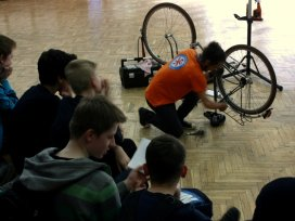 bike workshops for children